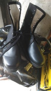 Leather Security Boot